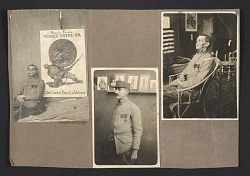 Documentation of a World War I soldier's facial reconstruction