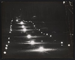 Untitled (Yale Golf Course lightsound installation)