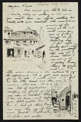 William Cushing Loring papers, 1899-1961