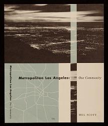 Metropolitan Los Angeles: One Community book cover design