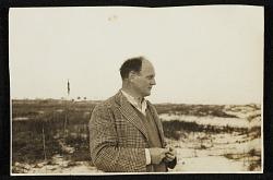 Reginald Marsh on the beach