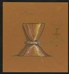 John Marshall sketch of a double vessel