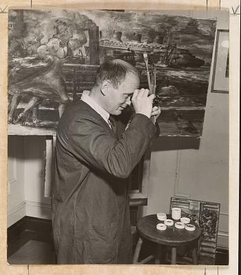 Reginald Marsh papers, 1897-1955