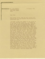 Allen Fannin to Francis Merritt