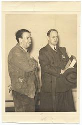 Diego Rivera and Robert Tannahill