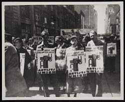 Artists' Union Rally