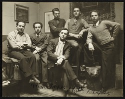 Moses Soyer and fellow artists