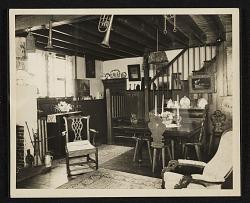 Interior of John Frederick Peto's studio, staircase