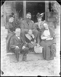 John Smith family portrait