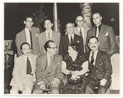Group portrait of Cuban-Modernists
