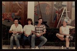 Arturo Rodríguez, Demi, David Wojnarowicz and Milke Glier