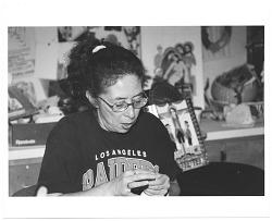 Marie Romero Cash at work