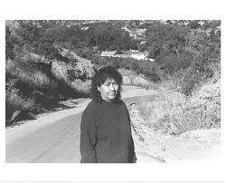 Gloria Lopez Cordova on road