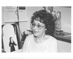 Anita Romero Jones with works