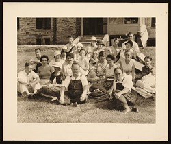 Students and Faculty, Stone City, 1933