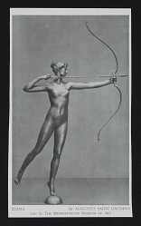 Reproduction of Diana by Augustus Saint Gaudens