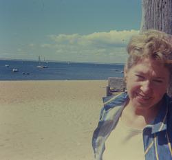 Dorothy Seckler in Provincetown, Massachusetts
