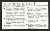 Image of What is an artist?
