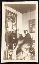 E. Ambrose Webster at home, 180 Bradford St., Provincetown, Mass.