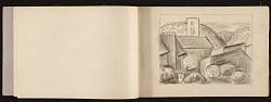 Edwin Ambrose Webster sketchbook of travel in France