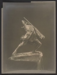 Gertrude Vanderbilt Whitney's sculpture His last charge