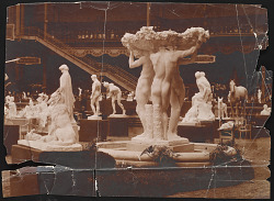 Photograph of Friendship Fountain by Gertrude Vanderbilt Whitney at Paris Salon