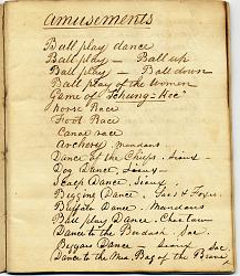 George Catlin's notebook #6