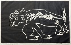"""""""Black Cat in Burlington, Vermont"""""""