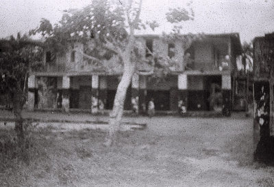 Field Work in Badagry, Western Region (Nigeria): Former Colonial District Officer's Office and Residence