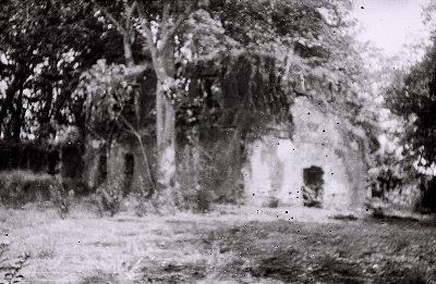 Field Work in Bunce Island, Sierra Leone: Ruined Walls of the British Slave Castle