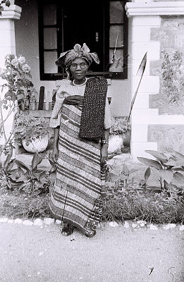 Field Work in the Western Region (Nigeria): Portrait of a Yoruba Woman
