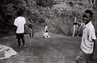 Field Work in Ondo, Western Region (Nigeria): Climbing Excursion to the Efi Rock