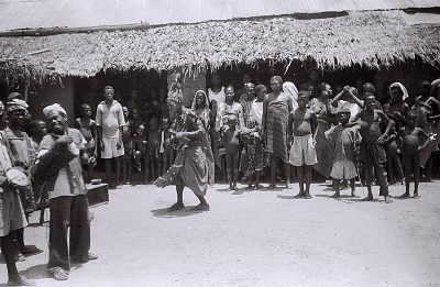 Field Work in the Vicinity of Ondo, Western Region (Nigeria): Ritual Performance Including Omolu (also Called Obaluaye, Soppona, or Babaluwaye), God of Smallpox and Infectious Disease