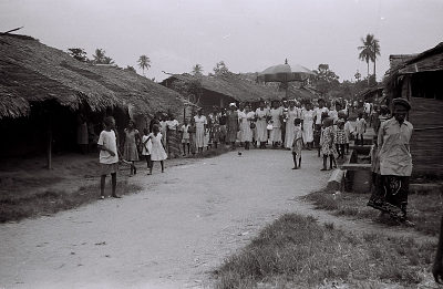 Field Work in Big Qua Town, Calabar, Eastern Region (Nigeria): Wedding Ceremony among the Qua Clan, Women Relatives Accompanying the Bride