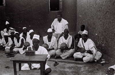 Field Work in the Northern Region (Nigeria): Wire Recording Session of Traditional Songs and Music