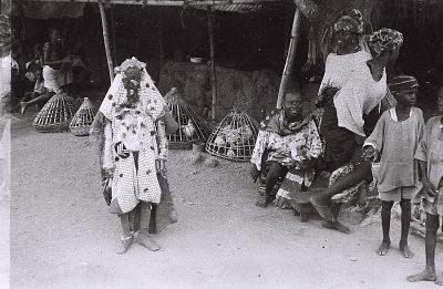 Field Work in Abeokuta, Western Region (Nigeria): Egungun Masquerader