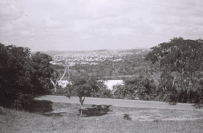 Field Work in the Western Region (Nigeria): Distant View of a City