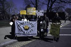 Latino Healthcare rally