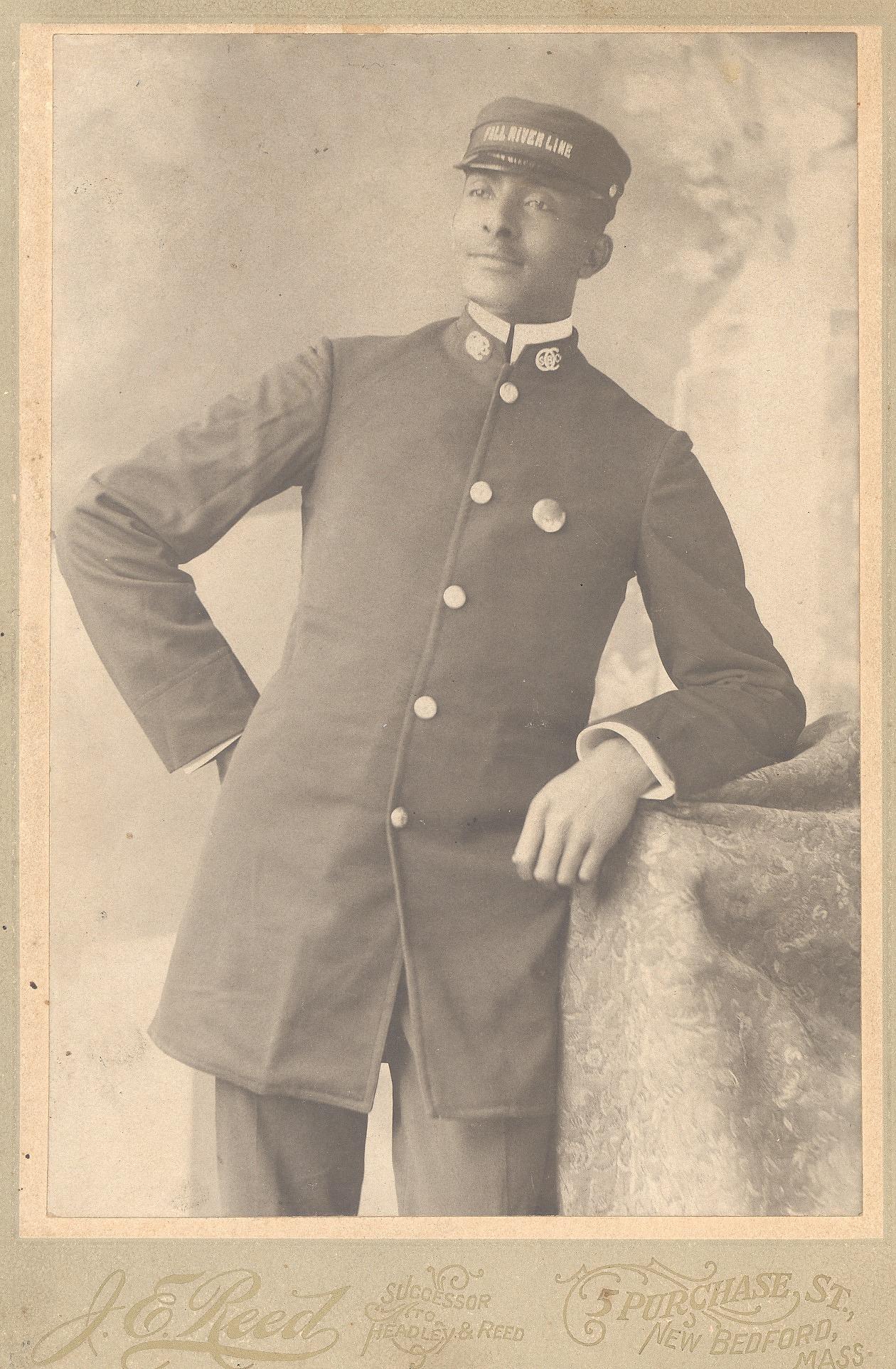 images for Portrait of John Reid wearing Pullman porters uniform