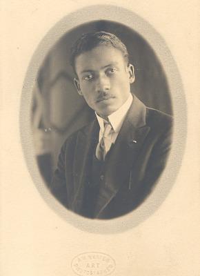 Lorenzo Dow Turner portrait
