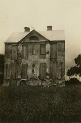 House in unidentified Gullah community