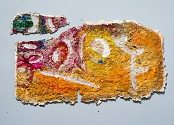 Handmade Three-Dimensional paper created by David Driskell