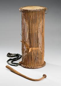 images for Dun Dun Talking Drum Musical Instrument w/stick-thumbnail 1