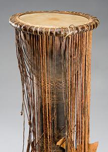 images for Dun Dun Talking Drum Musical Instrument w/stick-thumbnail 2