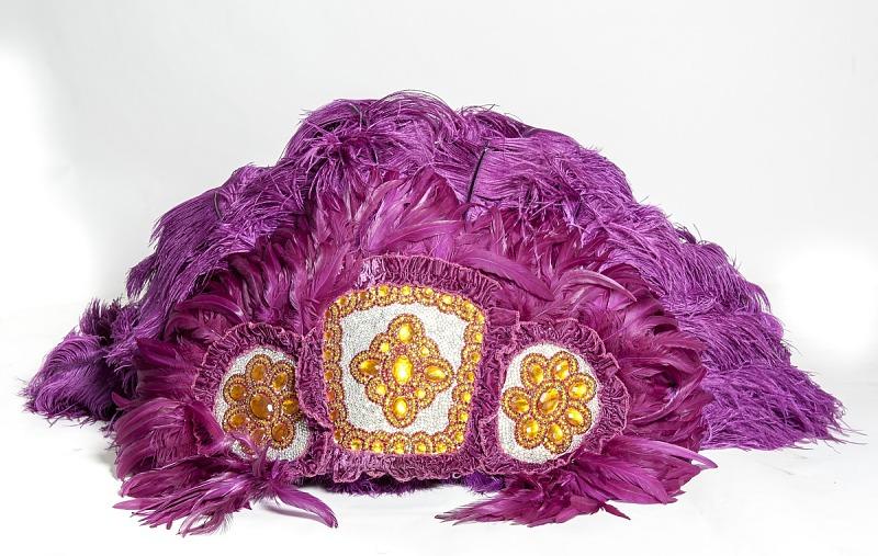 Image 1 for Mardi Gras Headdress