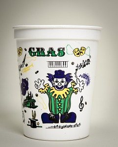 "images for ""Happy"" Mardi Gras cup-thumbnail 2"