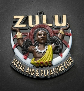 images for Zulu Mardi Gras Pendant-thumbnail 1