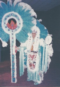 "images for Mardi Gras ""Big Chief Donald Harrison"" post card-thumbnail 1"