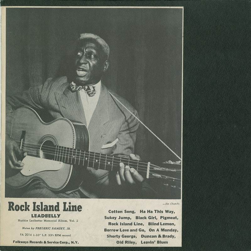 Image for Lead Belly's Legacy, Vol. 2: Rock Island Line Lead Belly sound recording