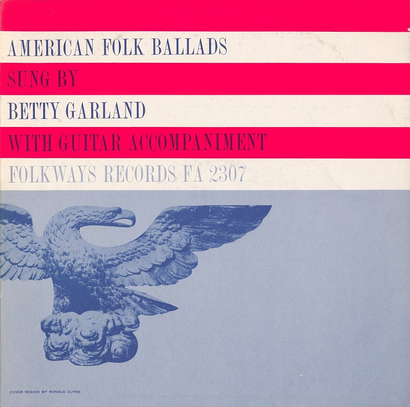 Image 1 for American folk ballads sound recording / sung by Betty Garland